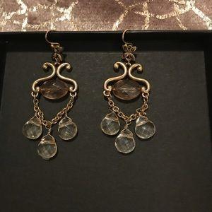 Jewelry - Antique gold drop earrings